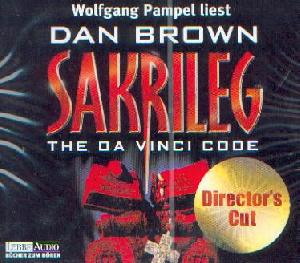 Brown, Dan: Sakrileg (Director's cut), Coverabbildung