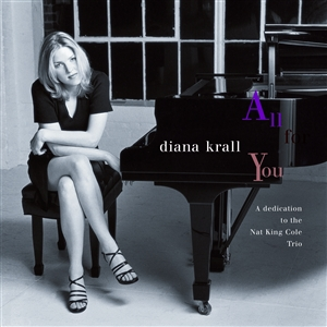 Krall, Diana: All for you, Coverabbildung