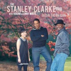 Clarke Trio, Stanley: Jazz in the garden, Coverabbildung