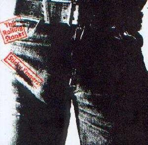 Rolling Stones, The: Sticky fingers, Coverabbildung