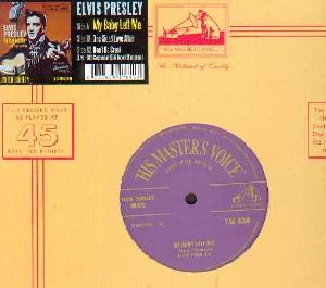 Presley, Elvis: My baby left me, Coverabbildung