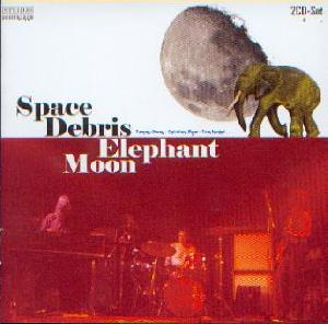 Space Debris: Elephant moon, Coverabbildung