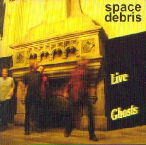 Space Debris: Live ghosts, Coverabbildung