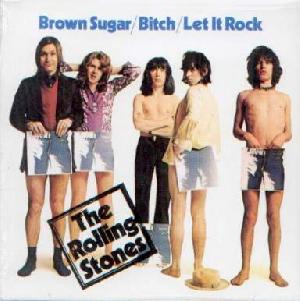 Rolling Stones, The: Brown sugar, Coverabbildung