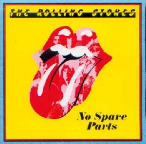 Rolling Stones, The: No spare parts, Coverabbildung
