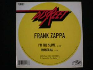 Zappa, Frank: I'm the slime, Coverabbildung