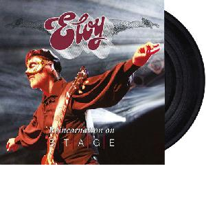 Eloy: Reincarnation on stage live, Coverabbildung
