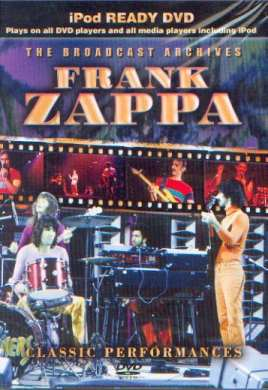 Zappa, Frank: The broadcast archives, Coverabbildung